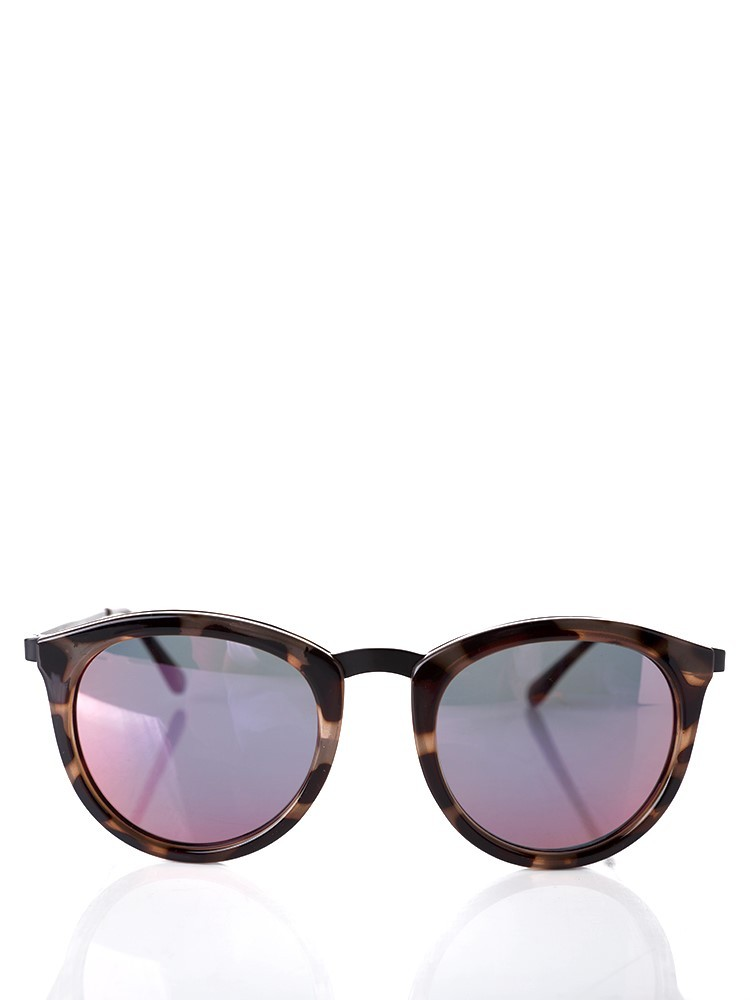 Le Specs Tortoise Shell No Smirking Sunglasses