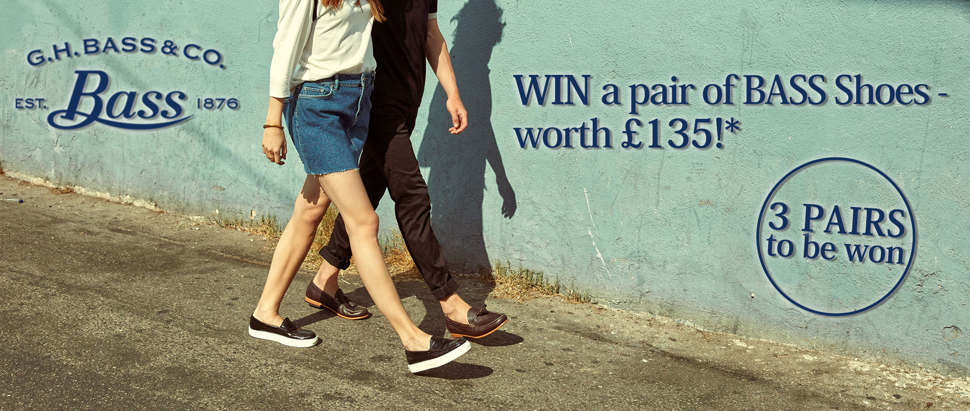 Win a pair of G.H Bass & Co. shoes up to £135!