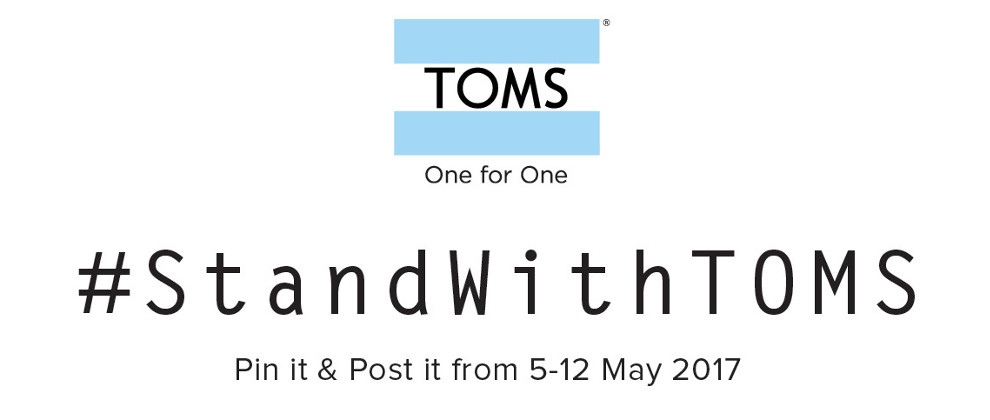 JOIN US IN TOMS PIN IT & POST IT