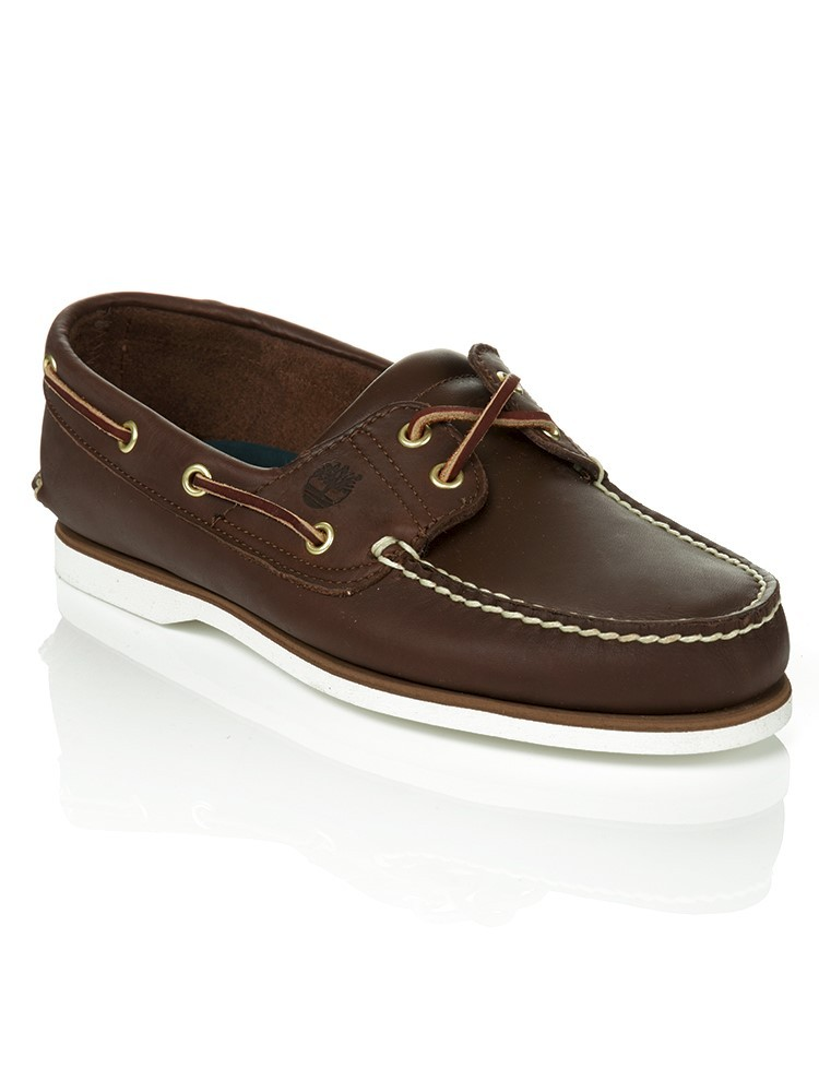 Timberland Brown Classic Boat Shoes