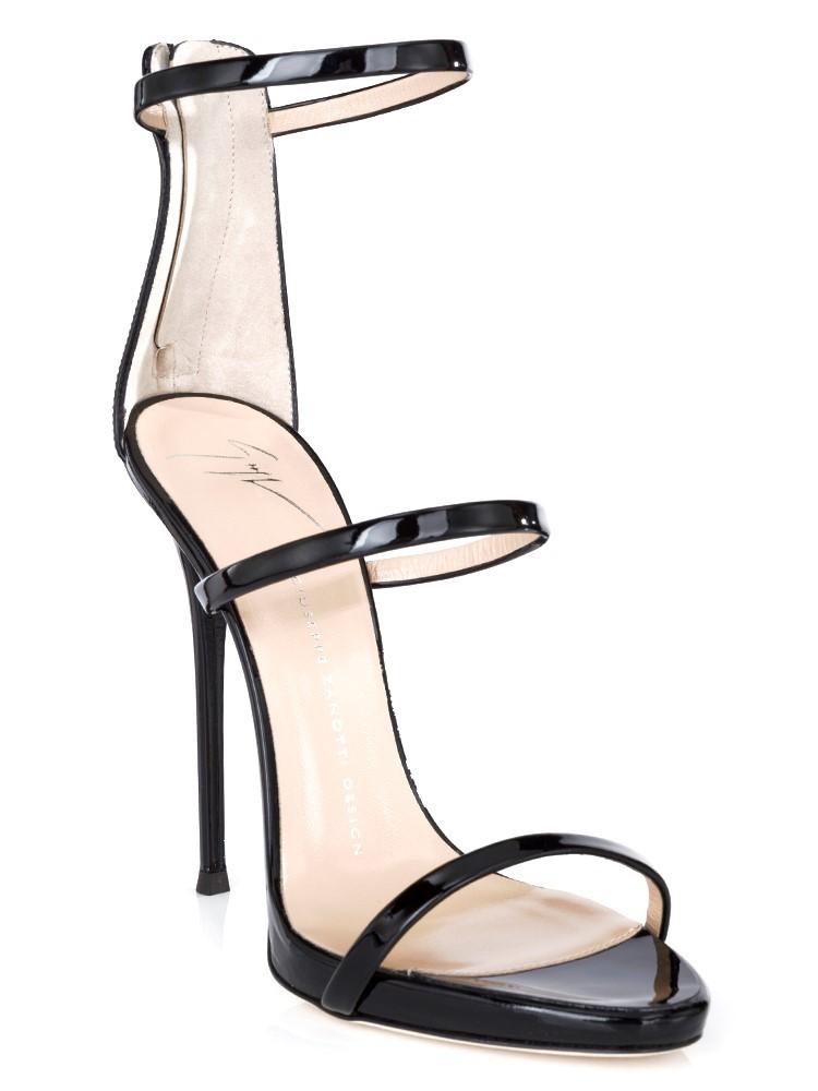 Giuseppe Zanotti Black Harmony Heels
