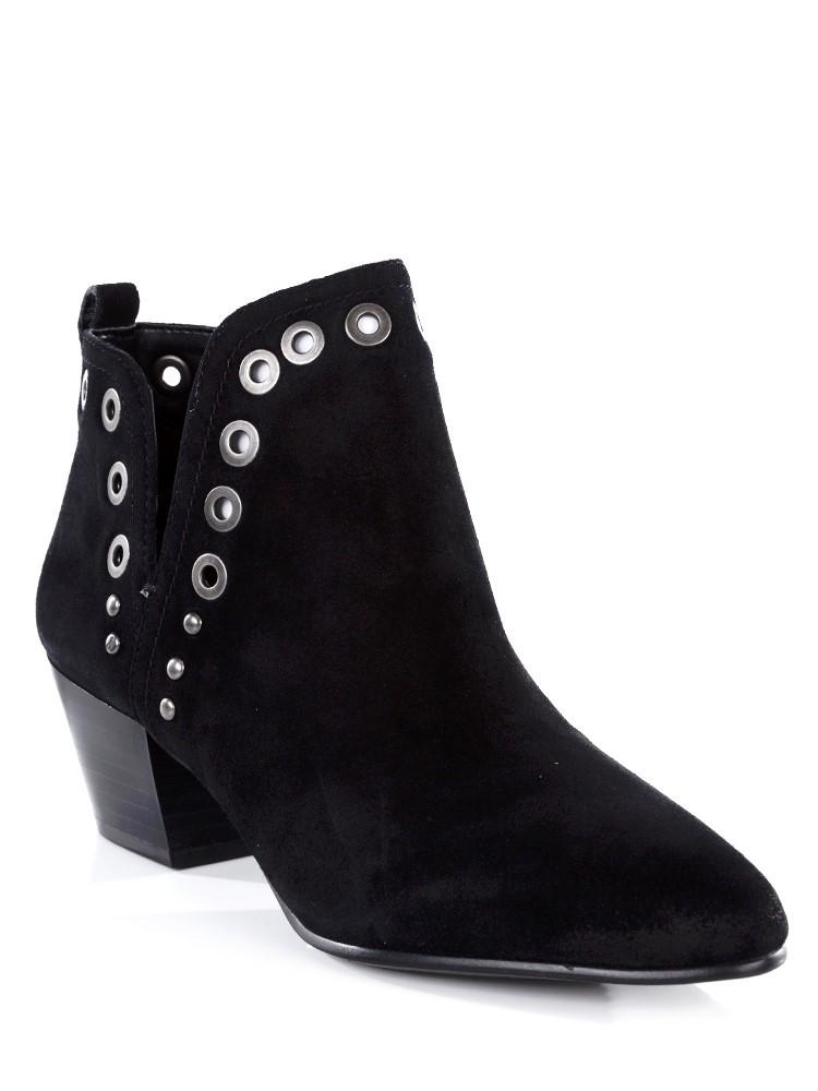 Sam Edelman Black Suede Rubin Boots