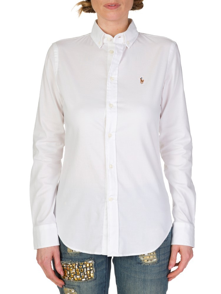 Polo Ralph Lauren Plain White Shirt