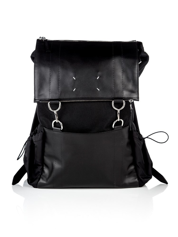 Maison Margiela Black Mesh Backpack