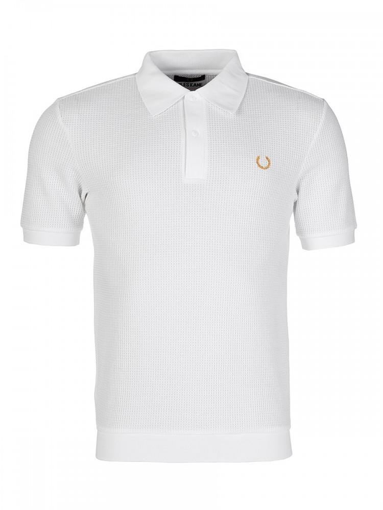 Fred Perry x Miles Kane White Polo Shirt