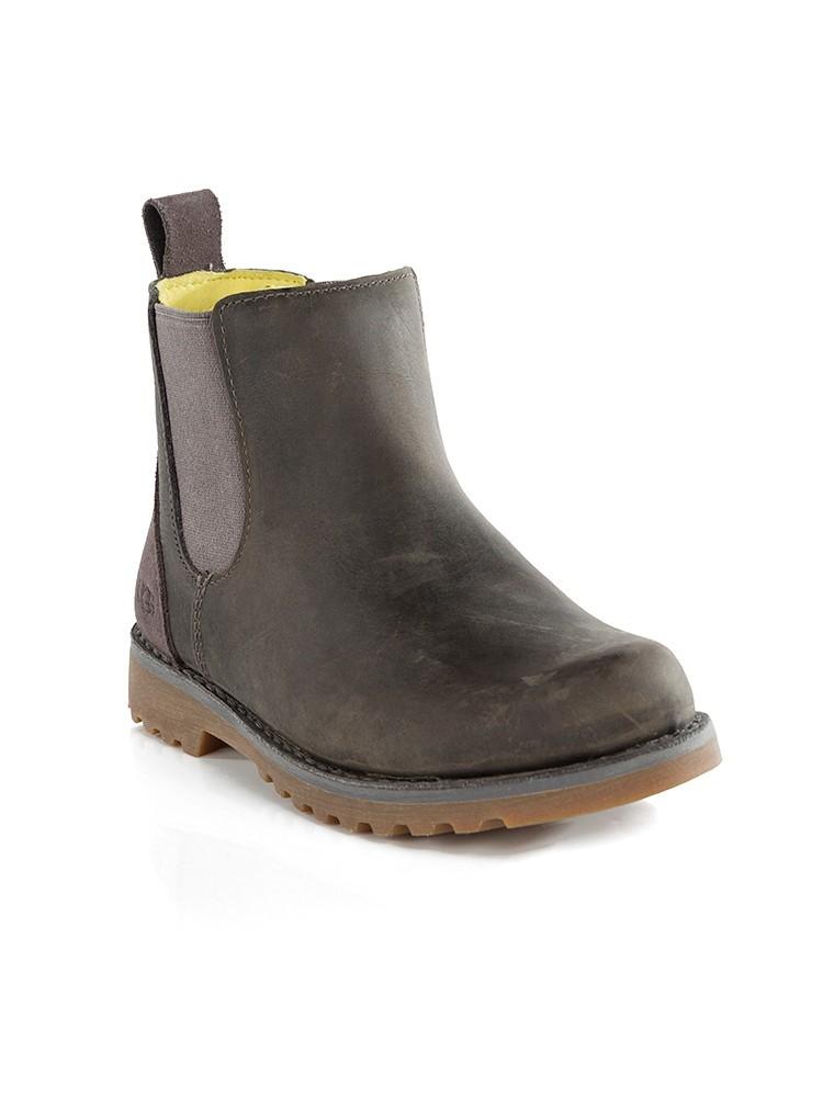 UGG Junior Grey Callum Chelsea Boots