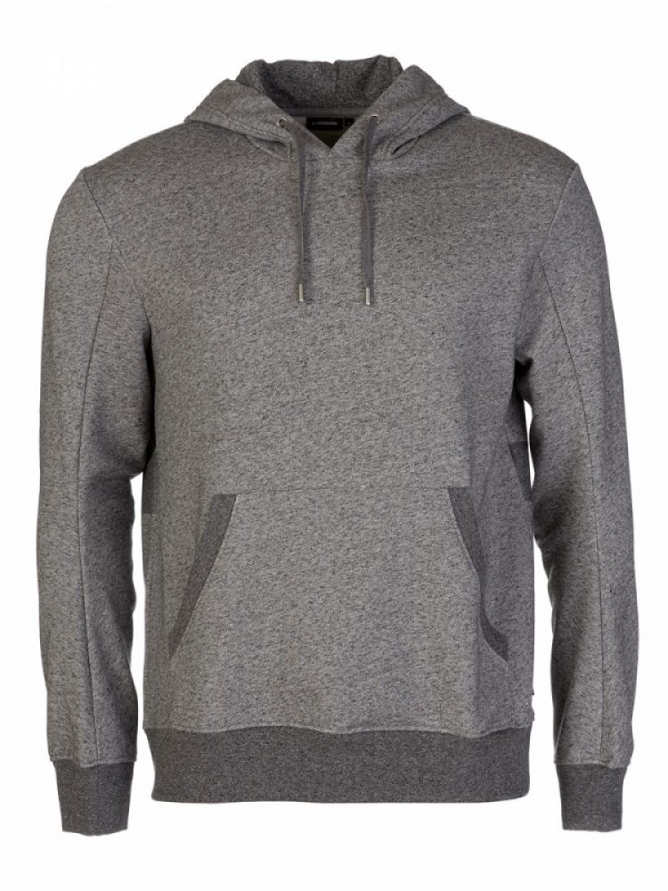 J.Lindeberg Grey Domino Hooded Sweatshirt
