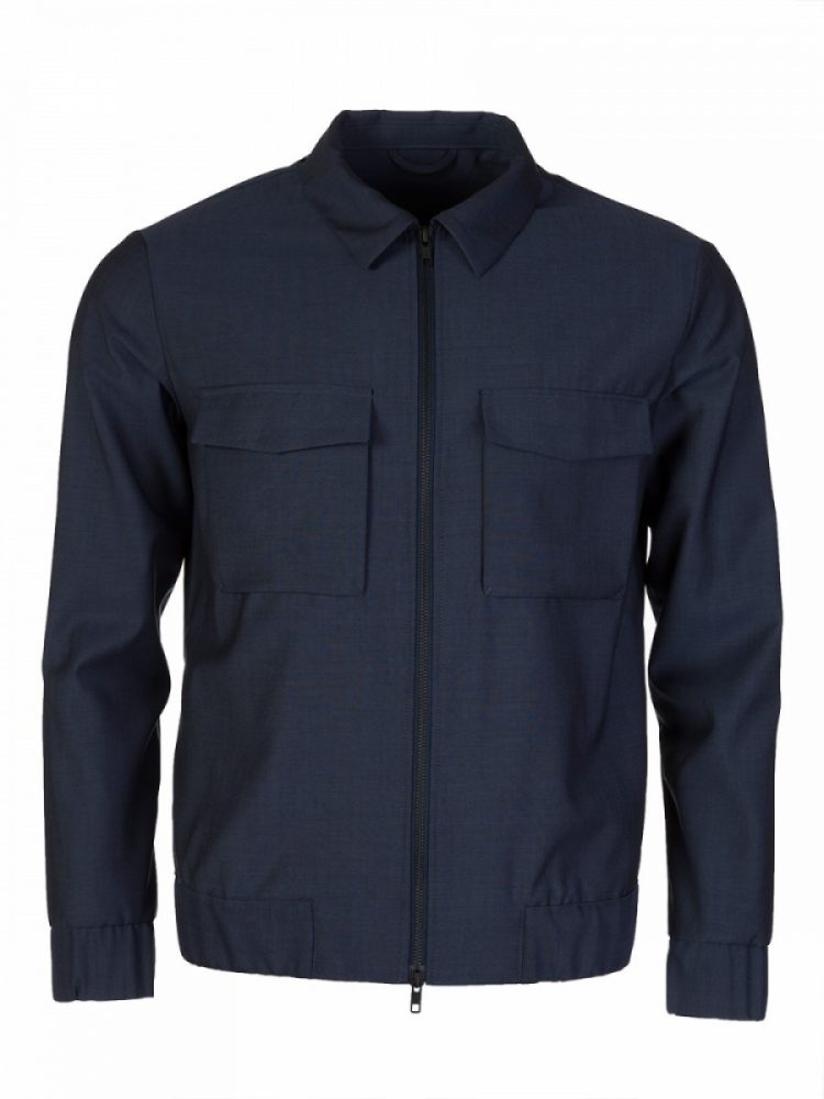 J. Lindeberg Blue Sport Over Jacket