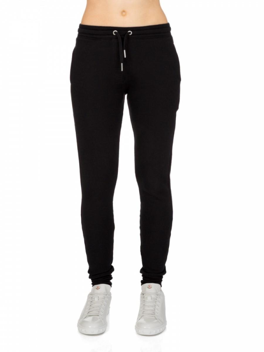 Zoe Karssen Black Ribbed Sweatpants