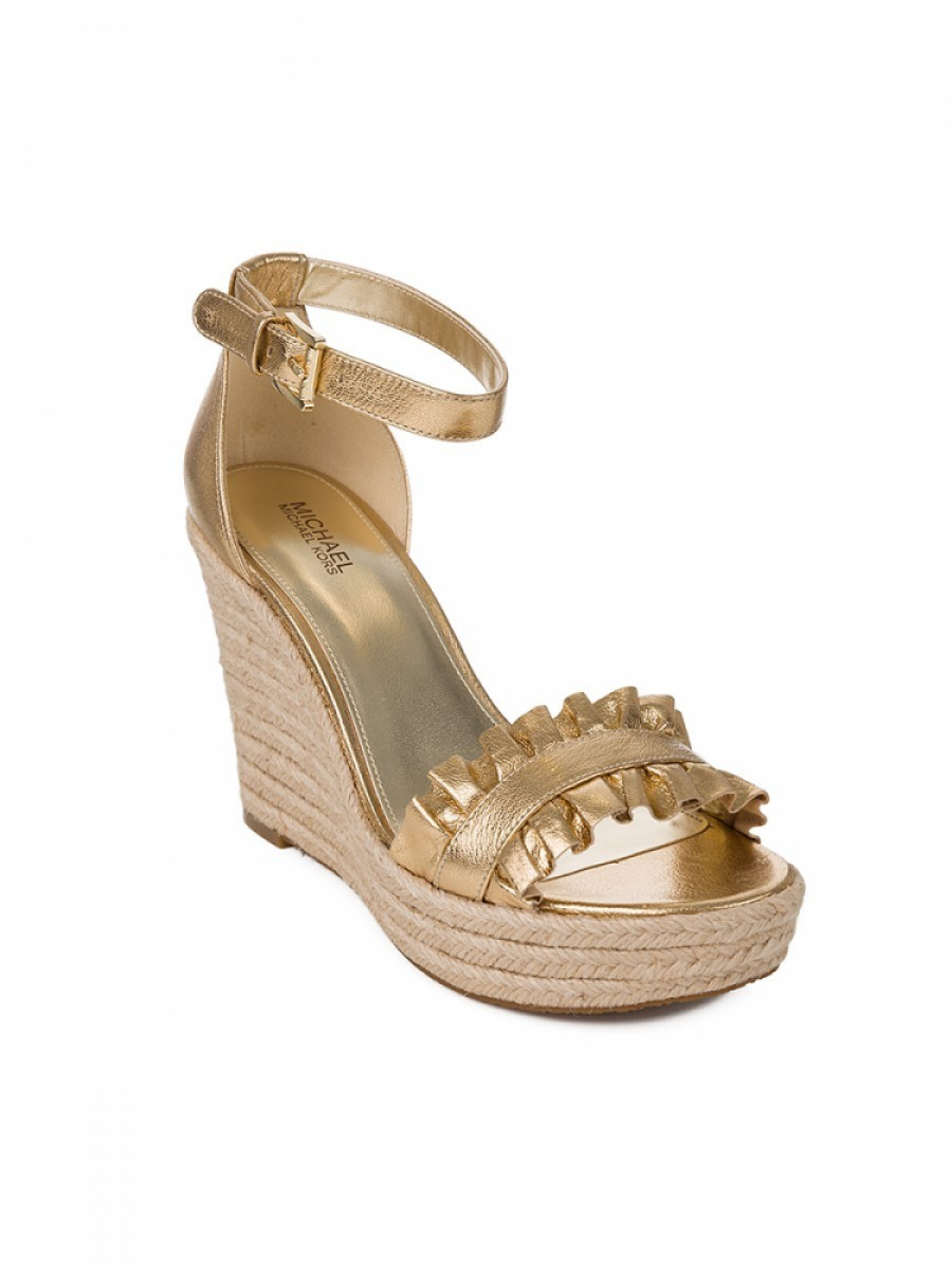Micheal Kors Gold Wedge