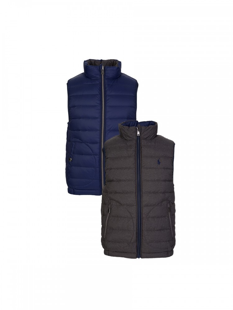 Polo Ralph Lauren Junior Navy Reversible Gilet