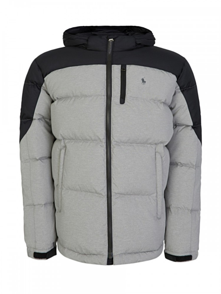 Polo Ralph Lauren Grey Hodded Down Jacket