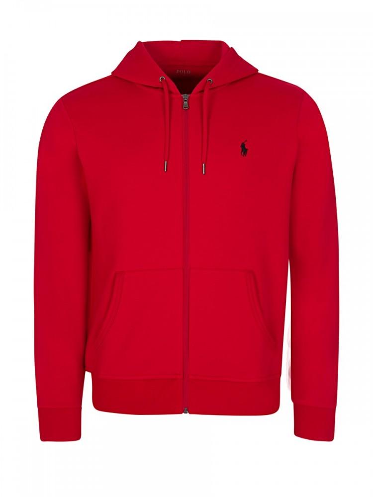 Polo Ralph Lauren Red Hooded Sweatshirt