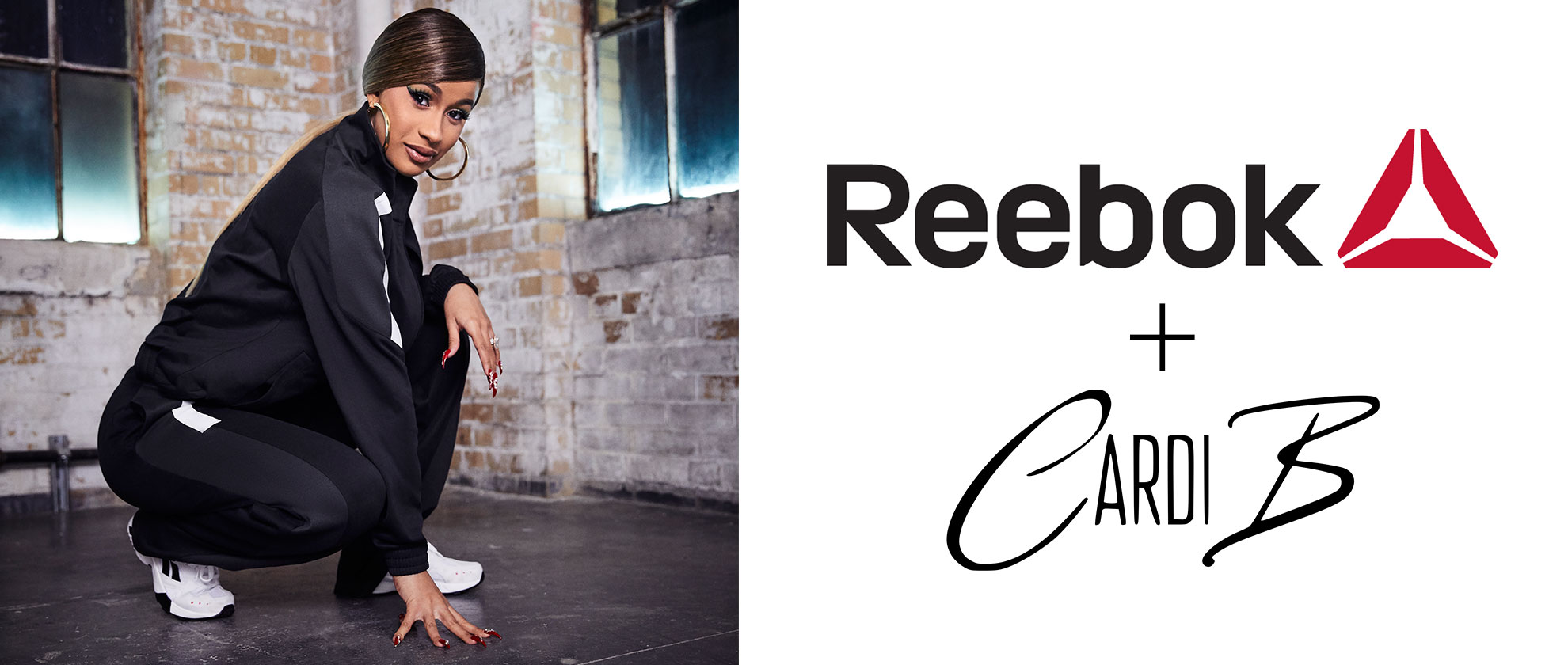 Cardi B is the new face of Reebok!