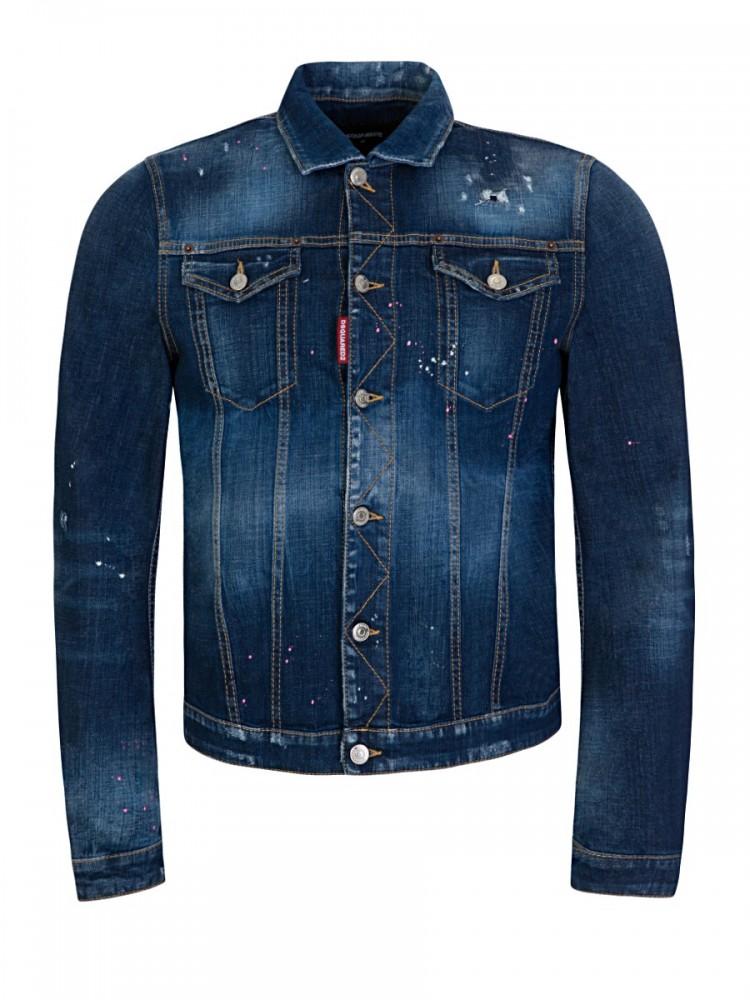 Dsquared2 Denim Classic Jean Jacket