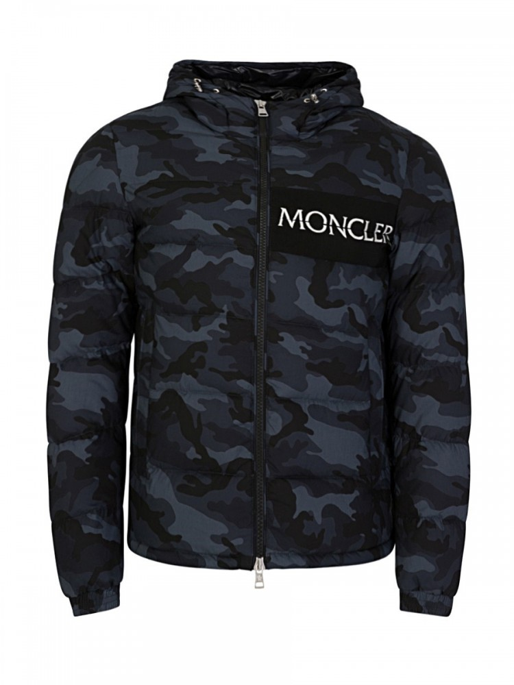 Moncler Black Aiton Down Jacket