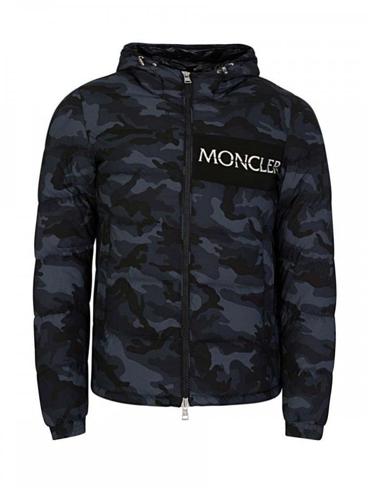 Moncler Black Aiton Down Jacket