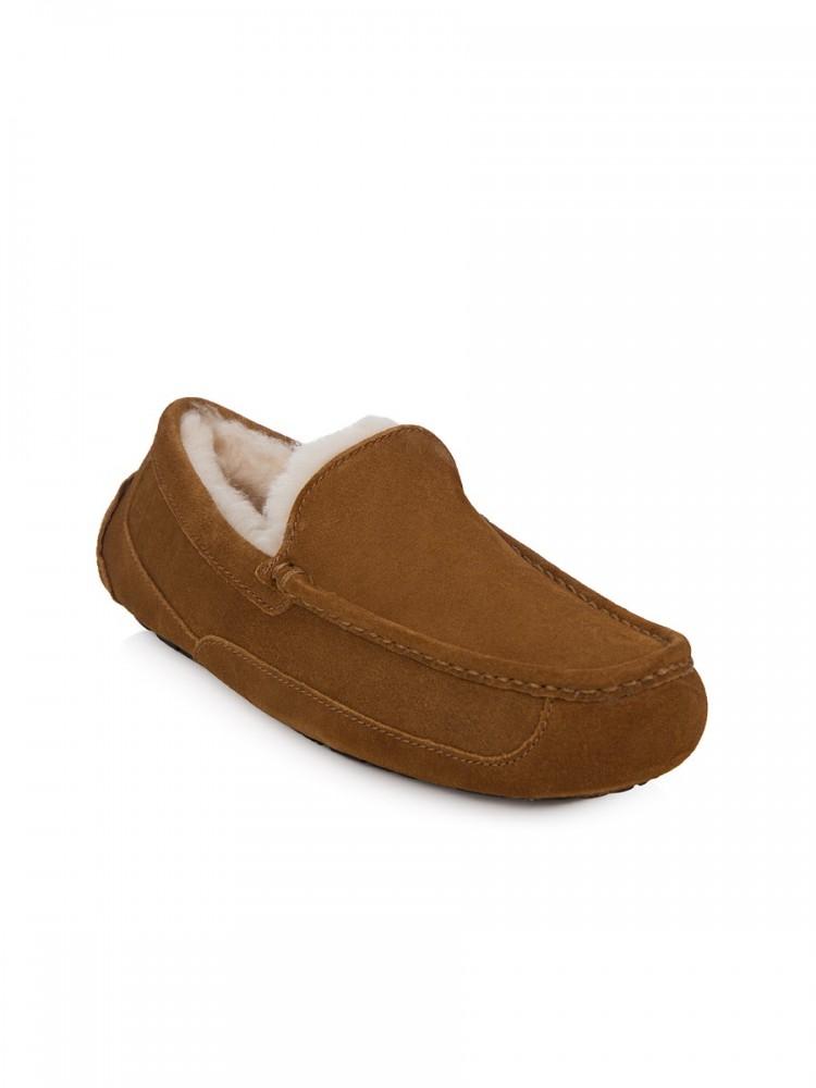 UGG Chestnut Ascot Slip-Ons
