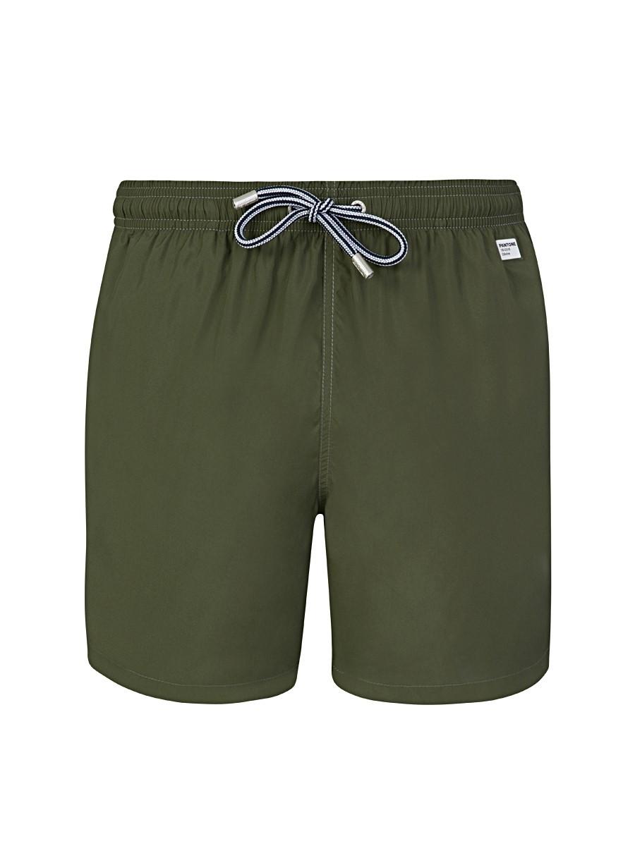 MC2 Saint Barth Green Pantone Swim Shorts