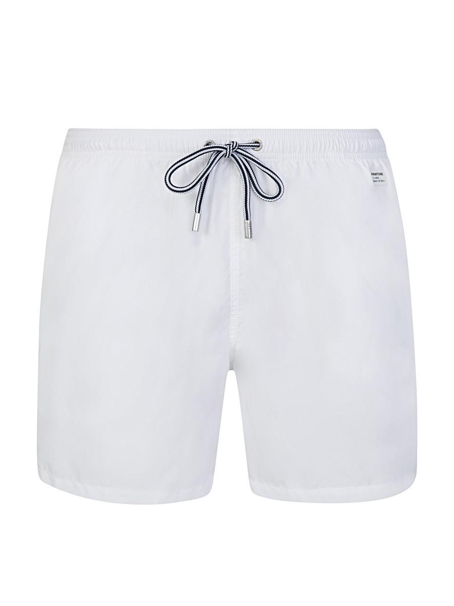 MC2 Saint Barth White Pantone Swim Shorts