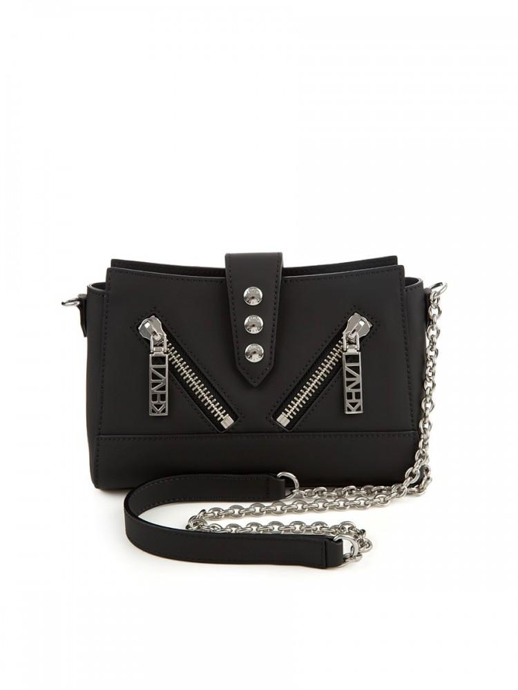 Kenzo Black Tiny Kalifornia Shoulder Bag