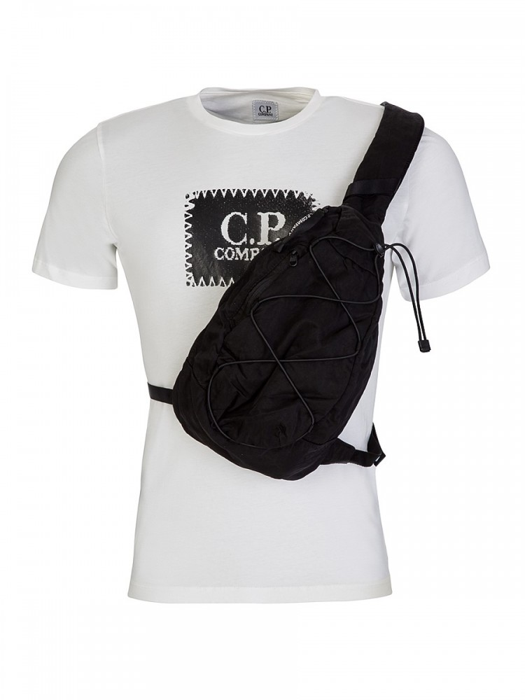 C.P. COMPANY BLACK LENS BACKPACK