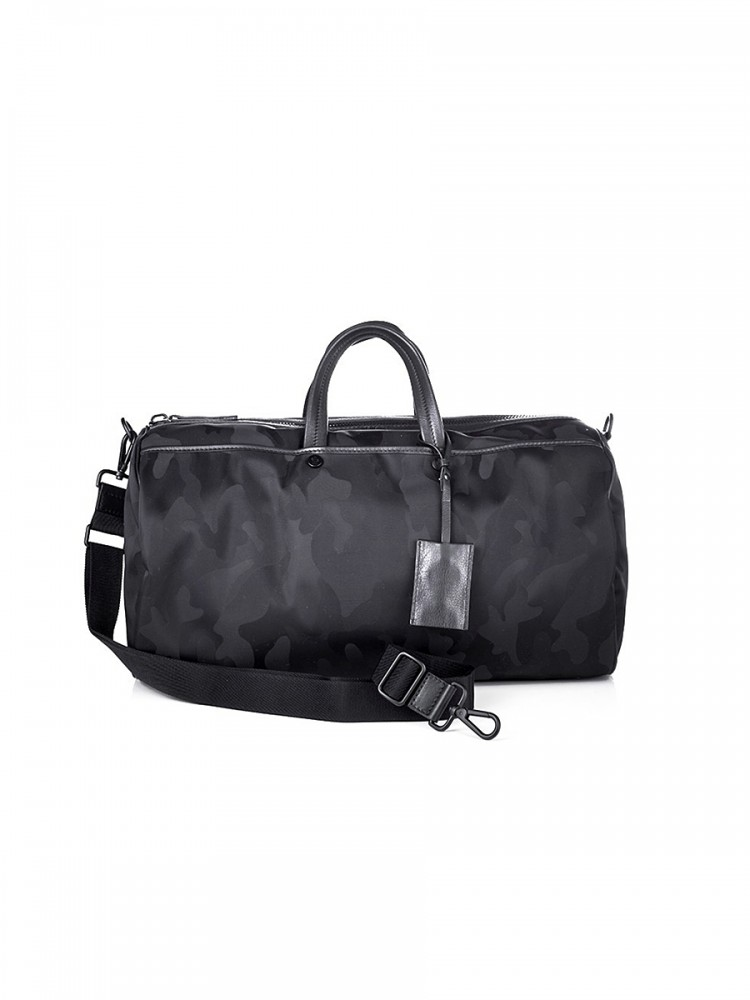 Moncler Black Camouflage Weekend Bag