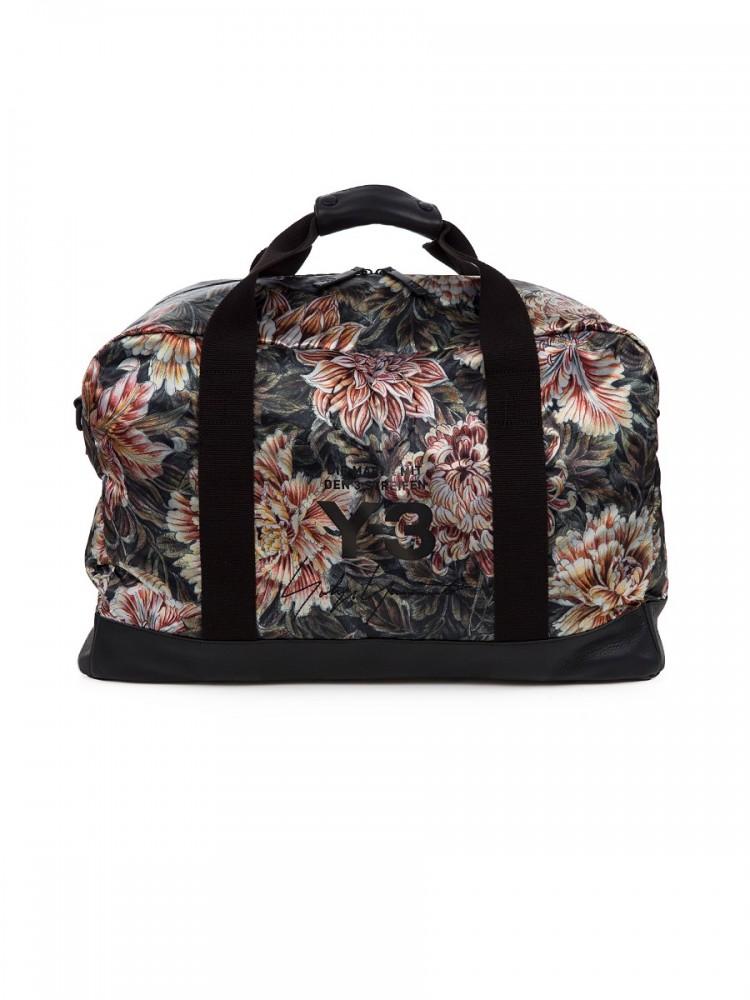 Y3 Floral Weekender Bag