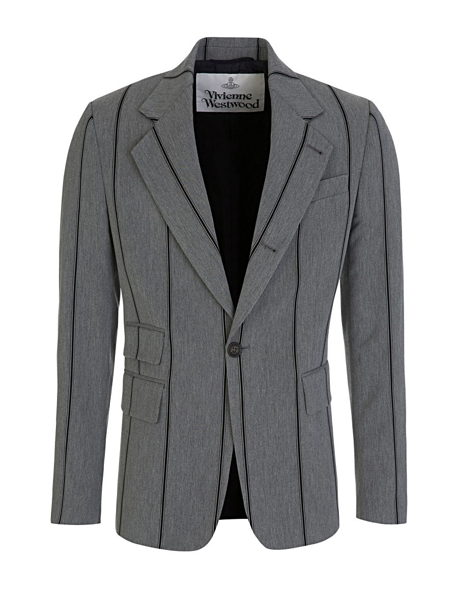 Vivienne Westwood Grey Pinstripe Jacket