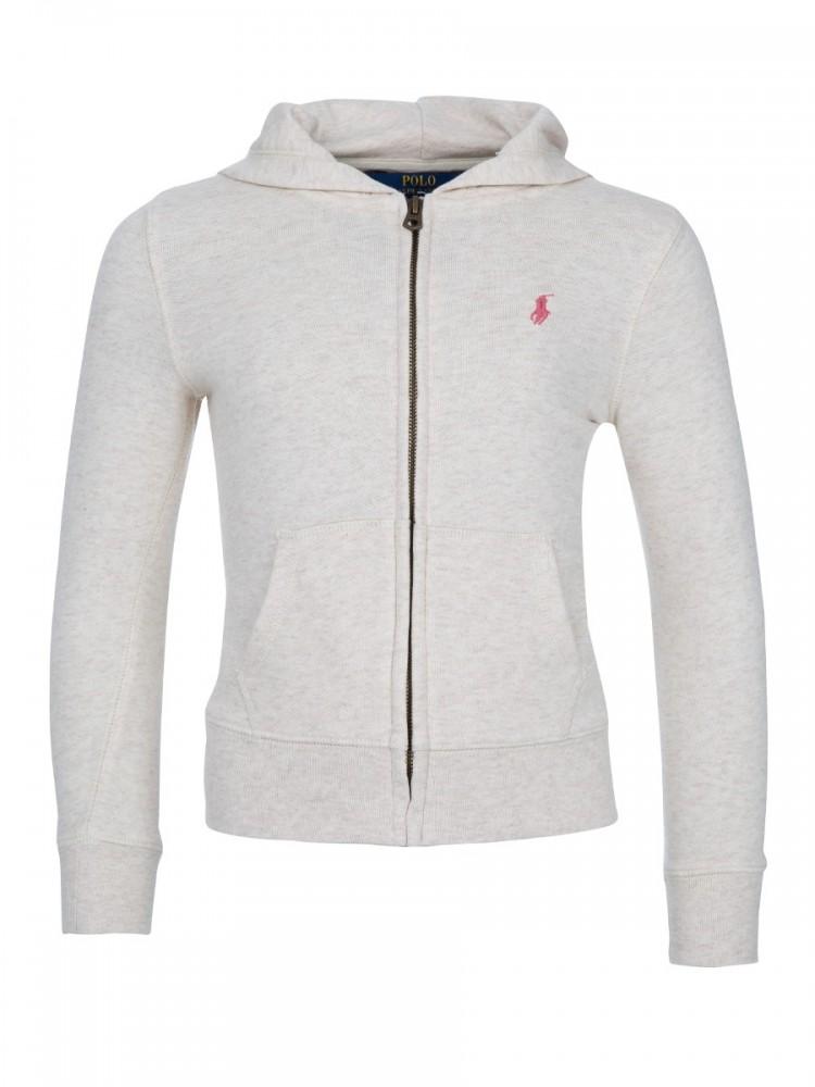 Polo Ralph Lauren Kids Oat Zip Hooded Sweatshirt