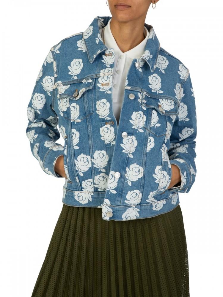 Kenzo Blue 'Roses' Denim Jacket