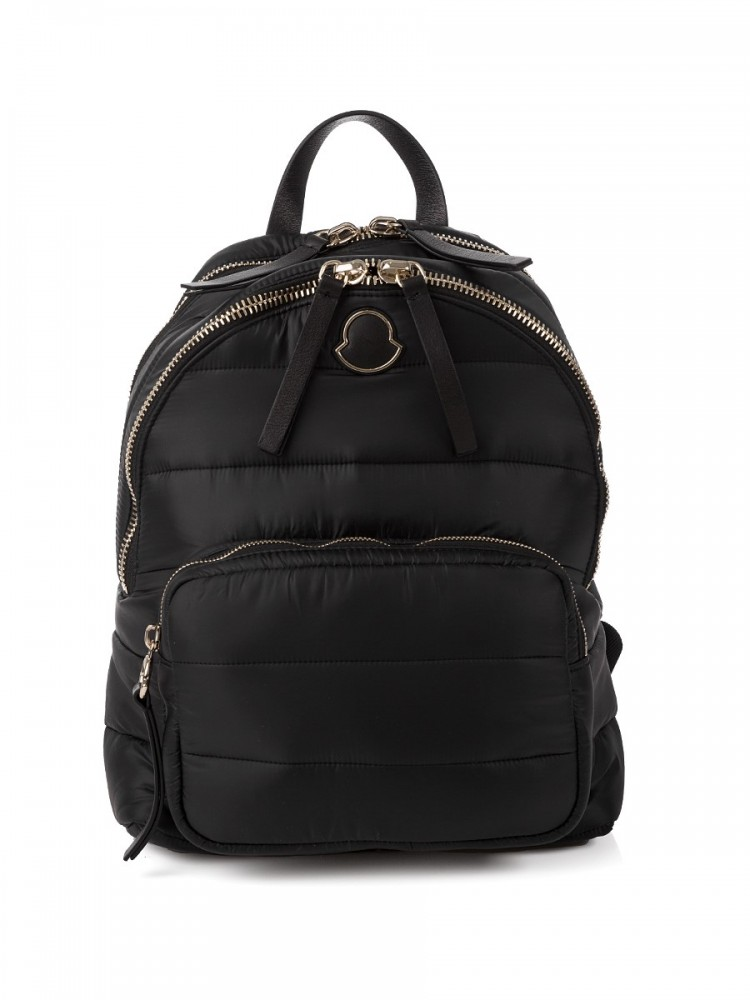 Moncler Black Kilia Medium Rucksack