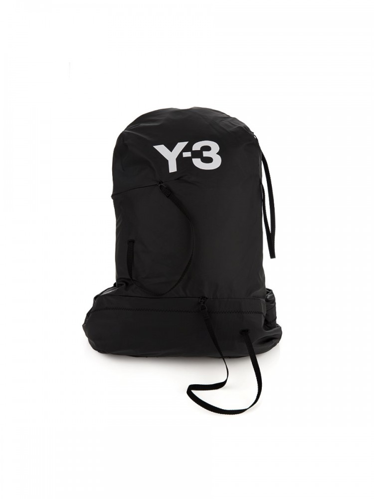 Y-3 Black Bungee Backpack