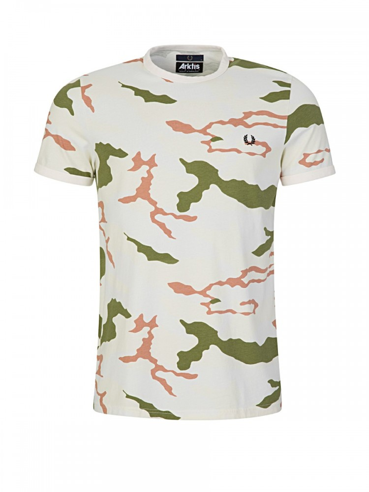 Fred Perry x Arktis Tundra Camouflage T-Shirt