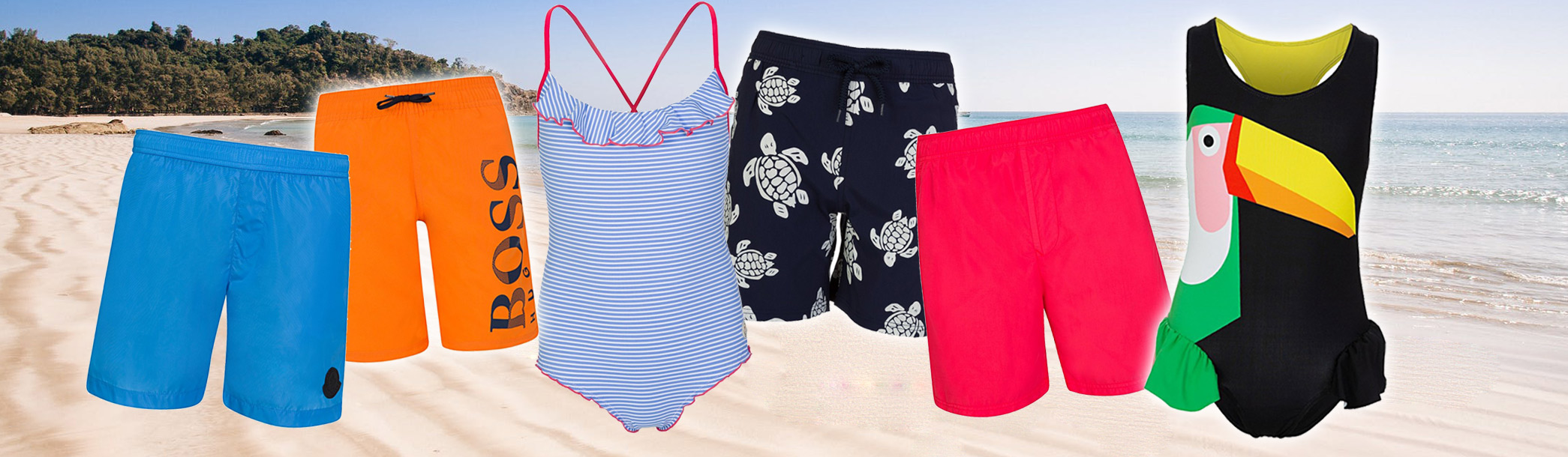 Kids swimwear solutions for fun in the pool and on the beach