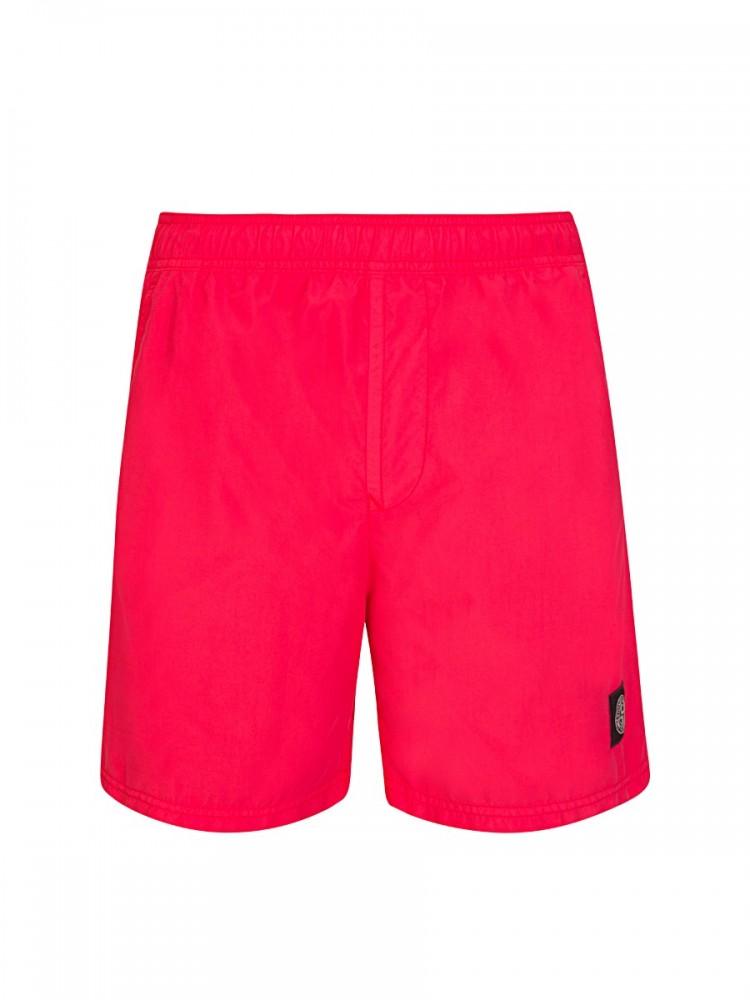 Stone Island Coral Logo Swim Shorts
