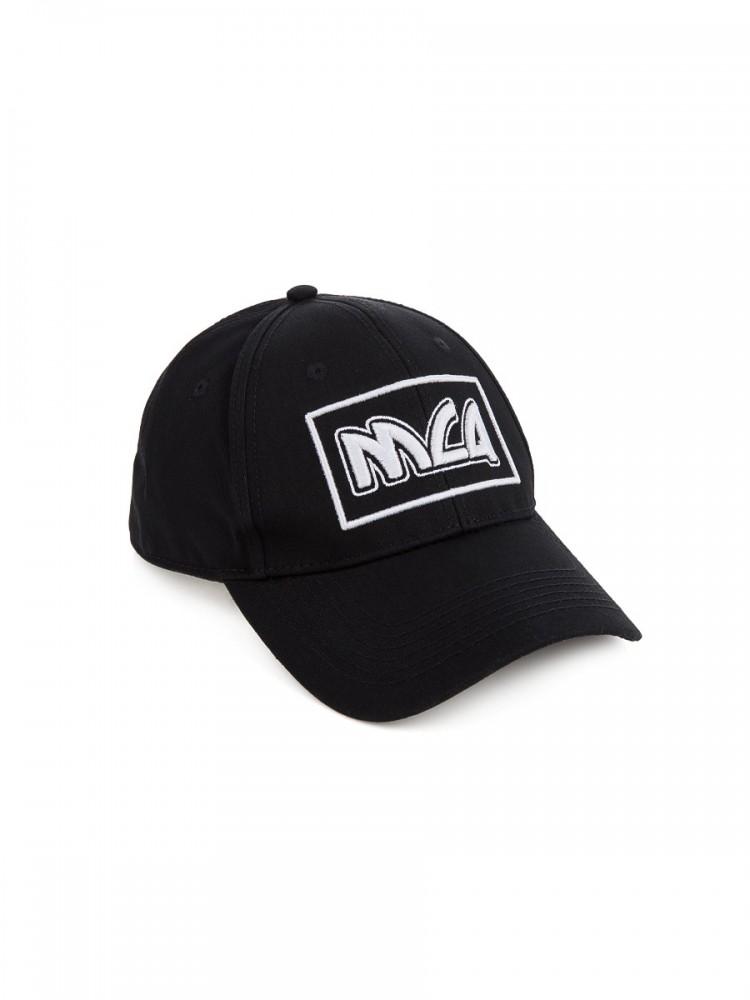 McQ by Alexander McQueen Black Logo Cap