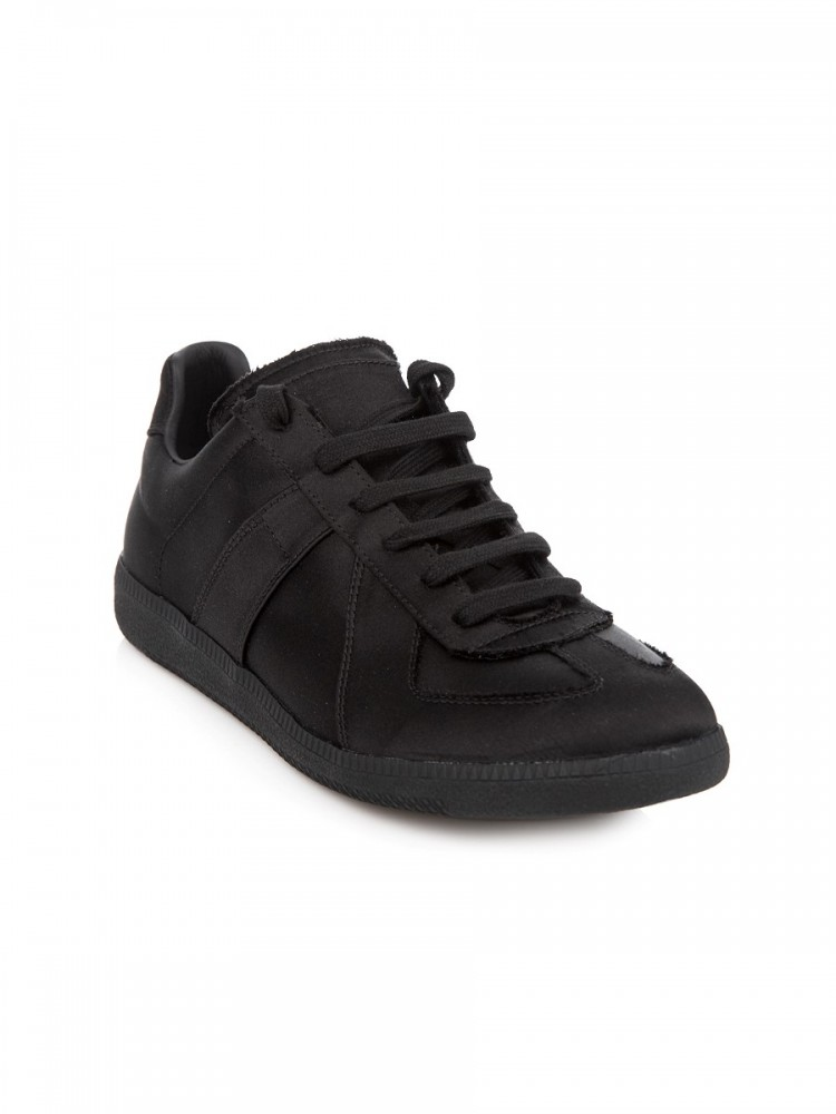 Maison Margiela Black Low-Top Replica Trainers