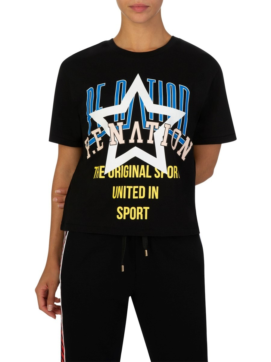 P.E Nation Black Rocket T-Shirt