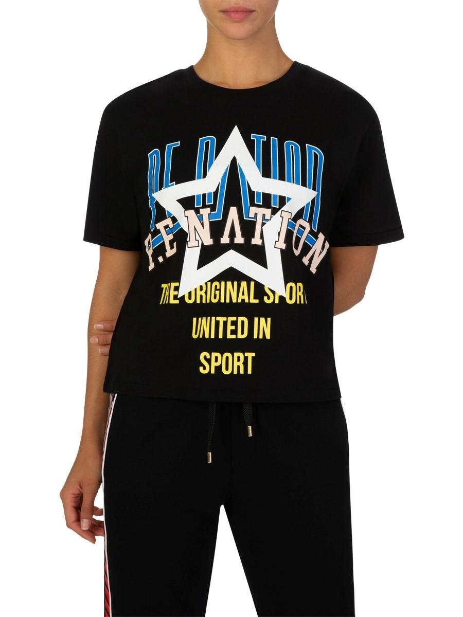 P.E Nation Black Rocket T-Shirt