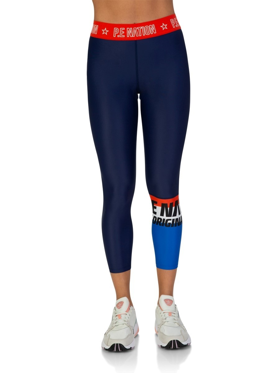 P.E Nation Navy Kicker Leggings