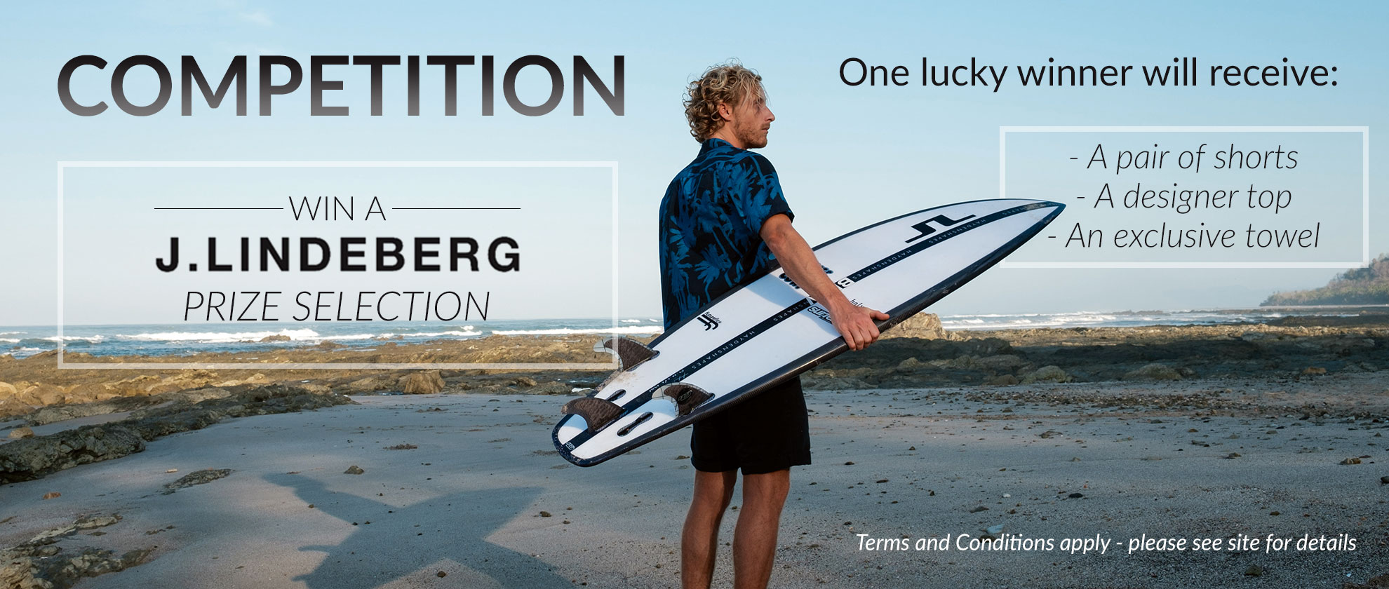 Win With J.Lindeberg