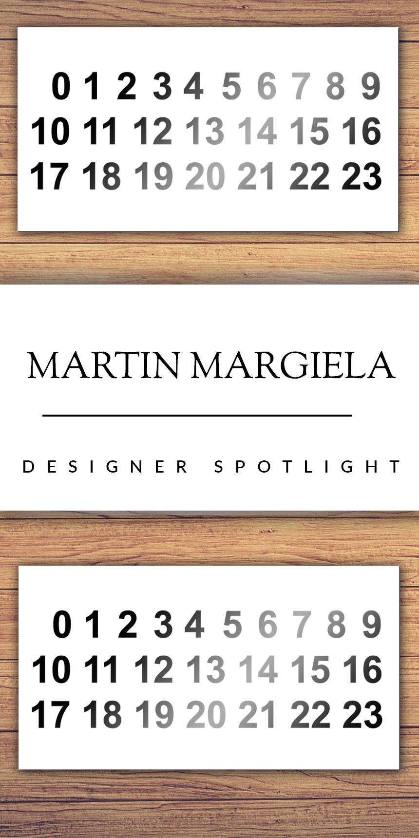 Designer Spotlight: Martin Margiela