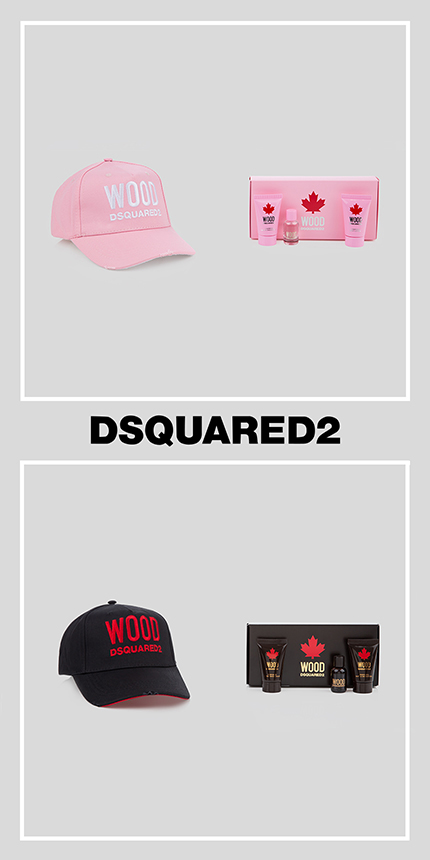 Get Your Free Gift With Dsquared2 Wood Fragrances!
