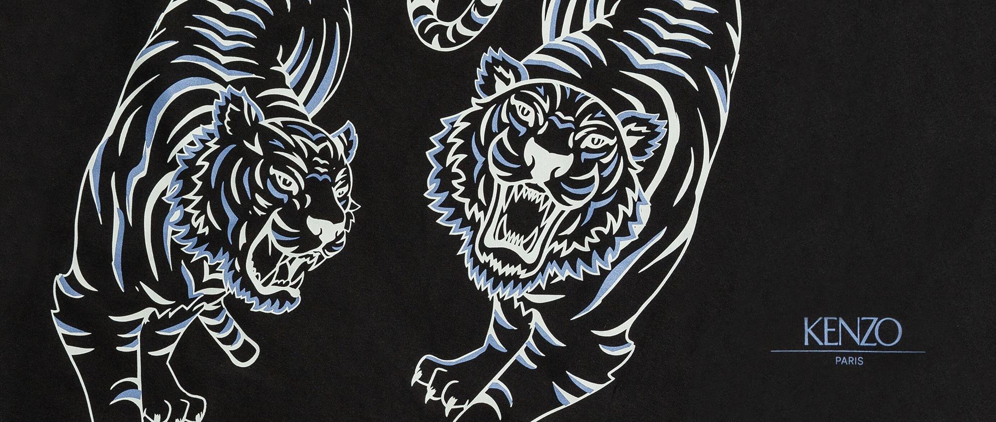 Staff Pick: KENZO Two Tiger Print T-Shirt
