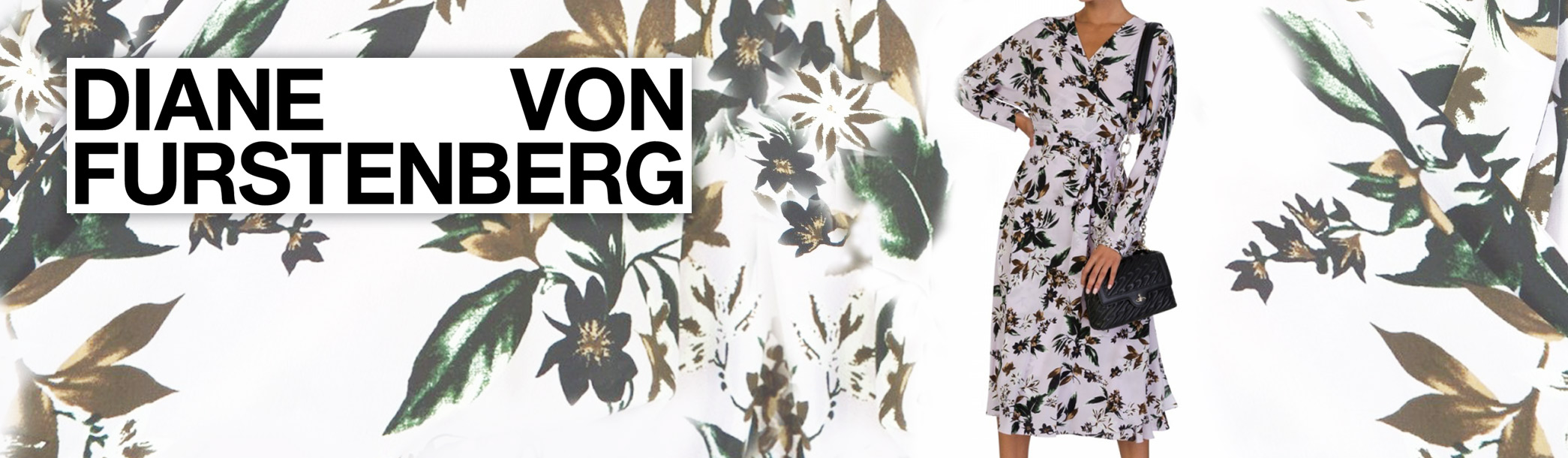 Staff Pick: Diane Von Furstenberg Lavender Floral Dress