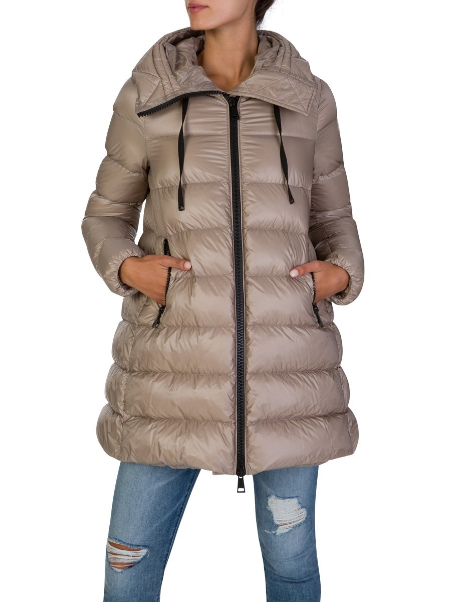 Moncler Brown Long Suyen Parka Jacket