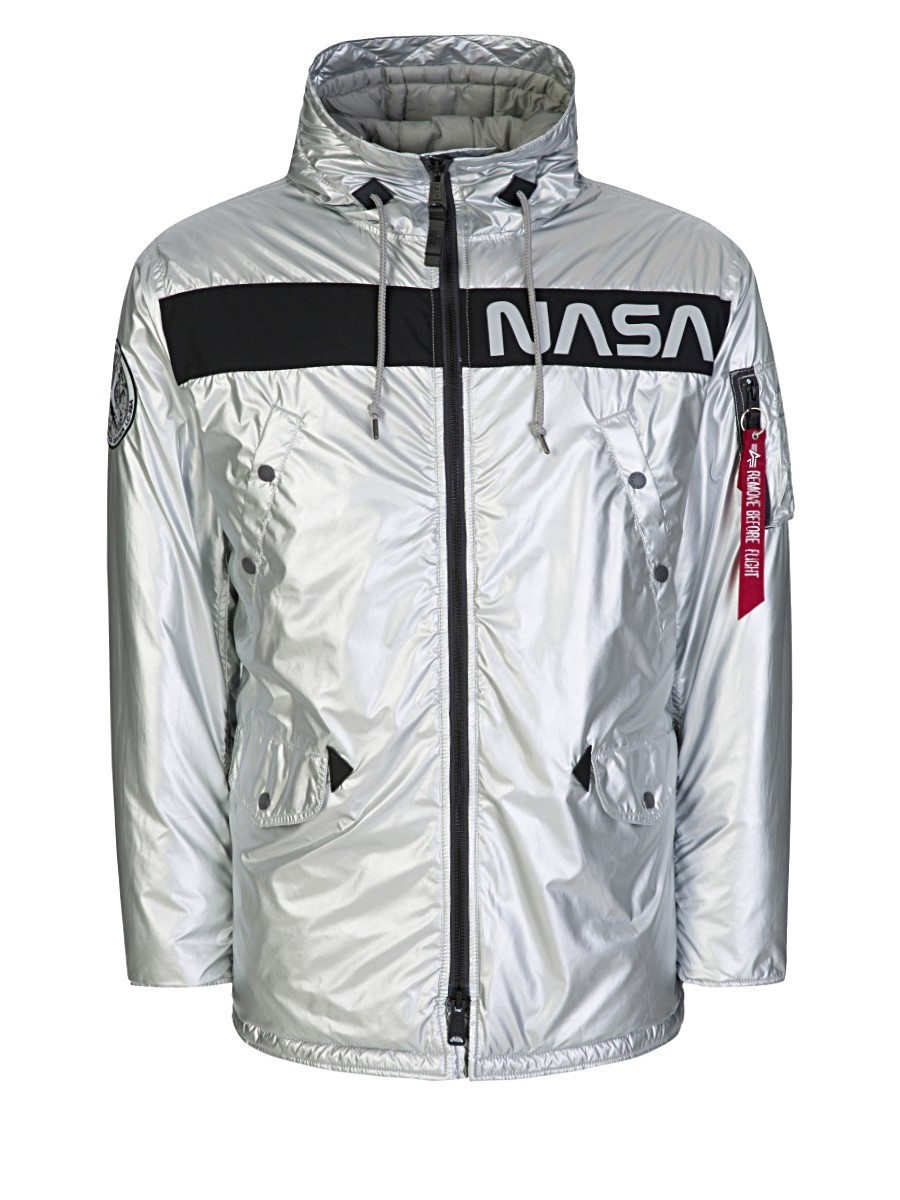 Alpha Industries Silver N-3B NASA Jacket