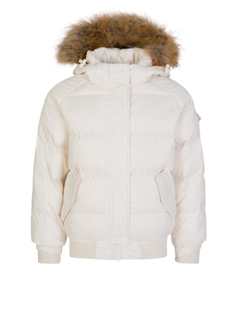 Pyrenex Junior White Aviator Down Jacket