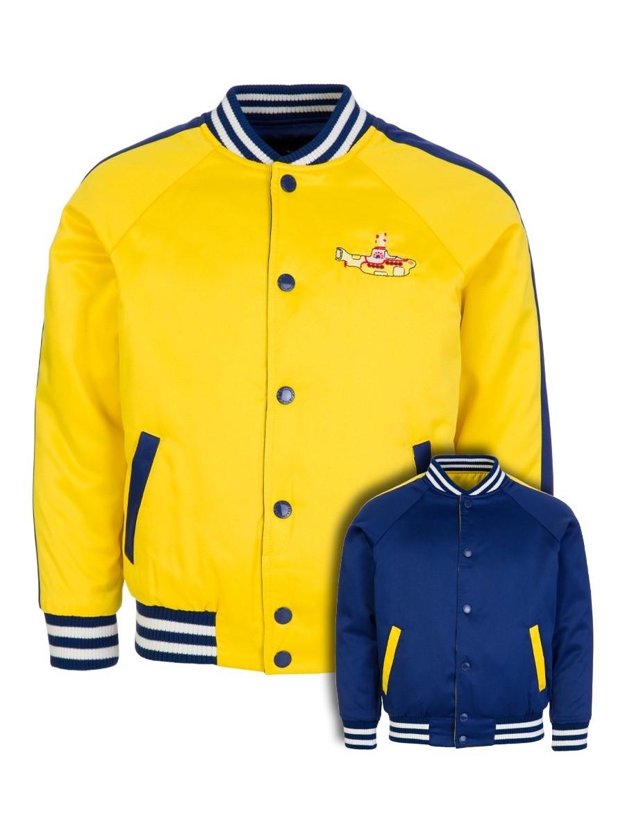 Stella McCartney Kids Yellow Reversible Beatles Bomber Jacket